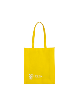 Reusable UNSW Bag in yellow