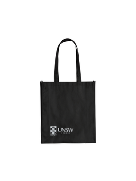 Reusable UNSW Bag in black
