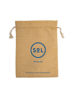 SOL Coffee Cup Pouch