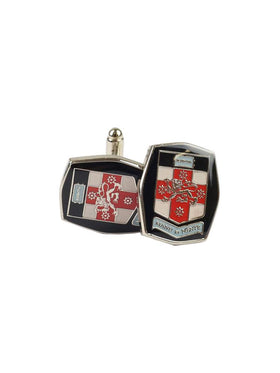 UNSW cufflinks featuring the full colour UNSW logo - view 2