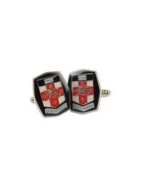 UNSW cufflinks featuring the full colour UNSW logo - view 1