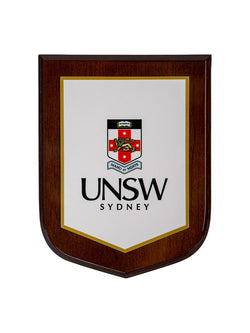 Plaque with full colour UNSW logo