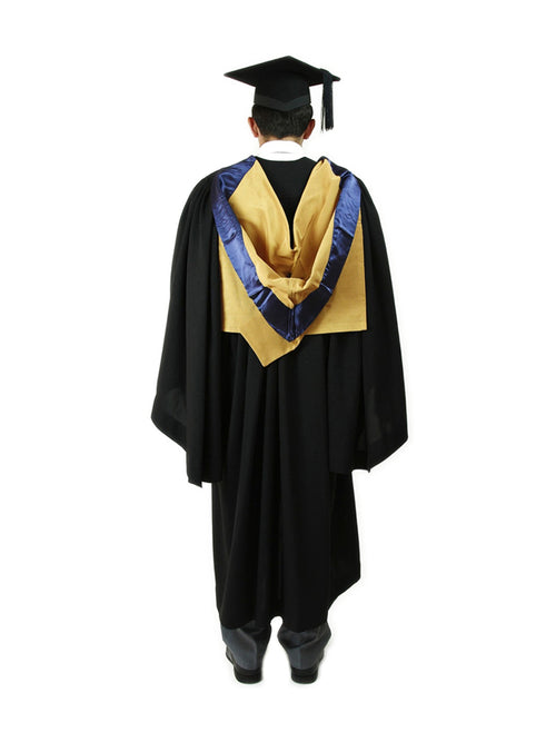 UNSW Graduation Bachelor Set | Law, includes gown, cap & hood