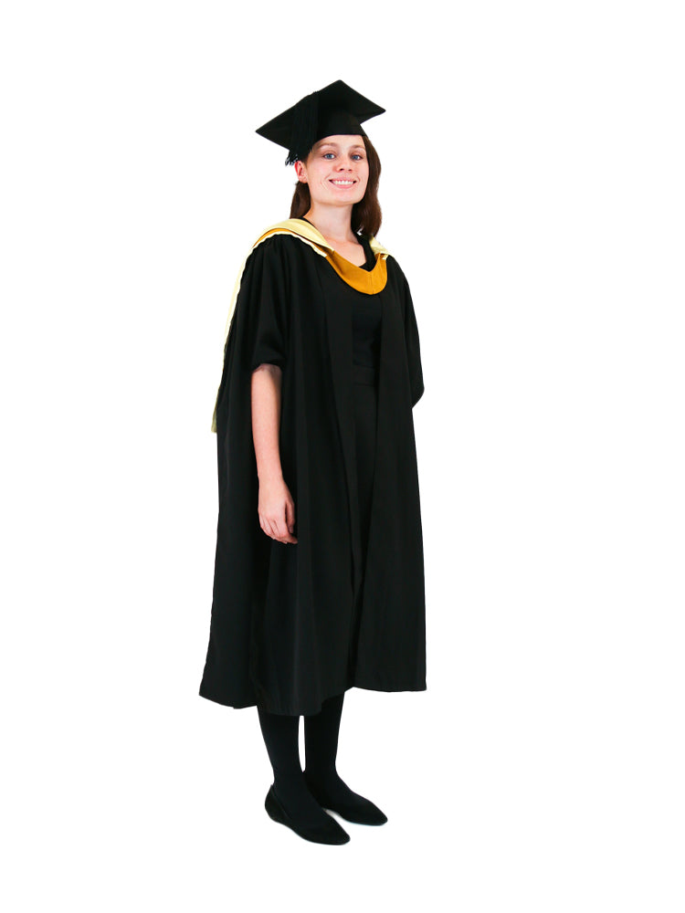 UNSW Graduation Master Set | Science, includes gown, cap & hood