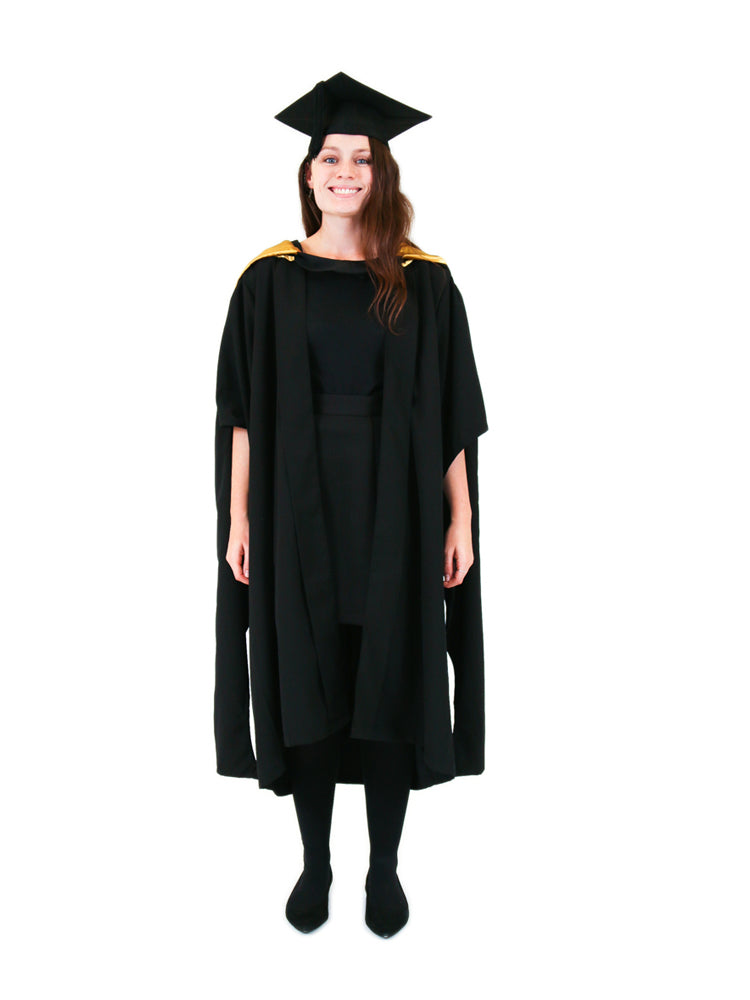 UNSW Graduation Master Set | Law, includes gown, cap & hood