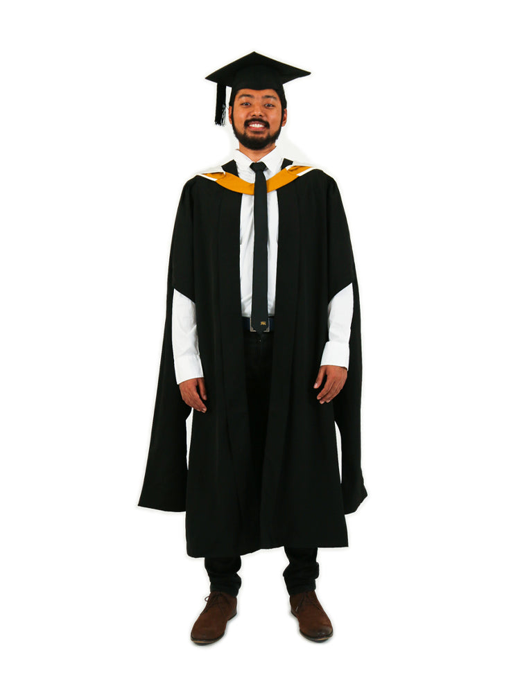 UNSW Graduation Master Set | Business, includes gown, cap & hood
