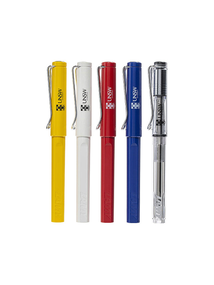 Lamy ballpoint pen available in 6 colours