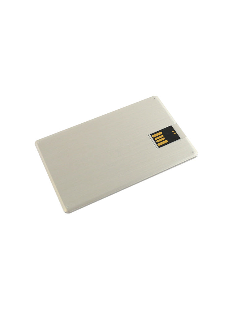 Credit Card sized USB stick with the UNSW logo - other side