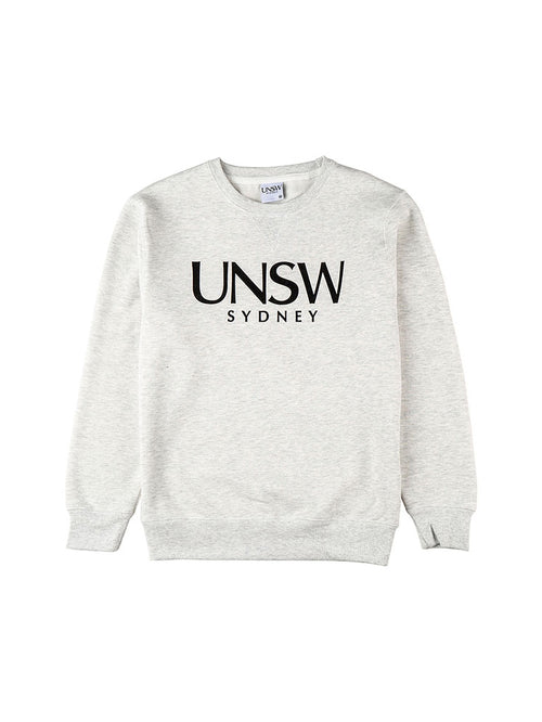 Limited Edition Snow Marle Crew Neck with UNSW text