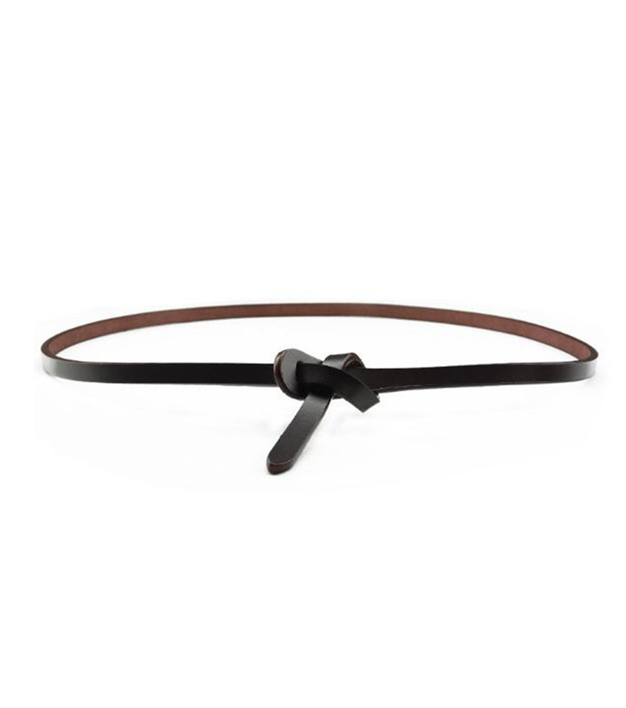 Lilie Pleather Loop Belt