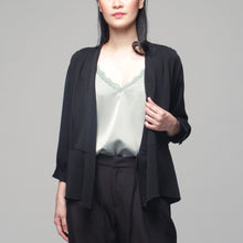 Load image into Gallery viewer, Inah 3/4 Sleeves Wrap Around Top