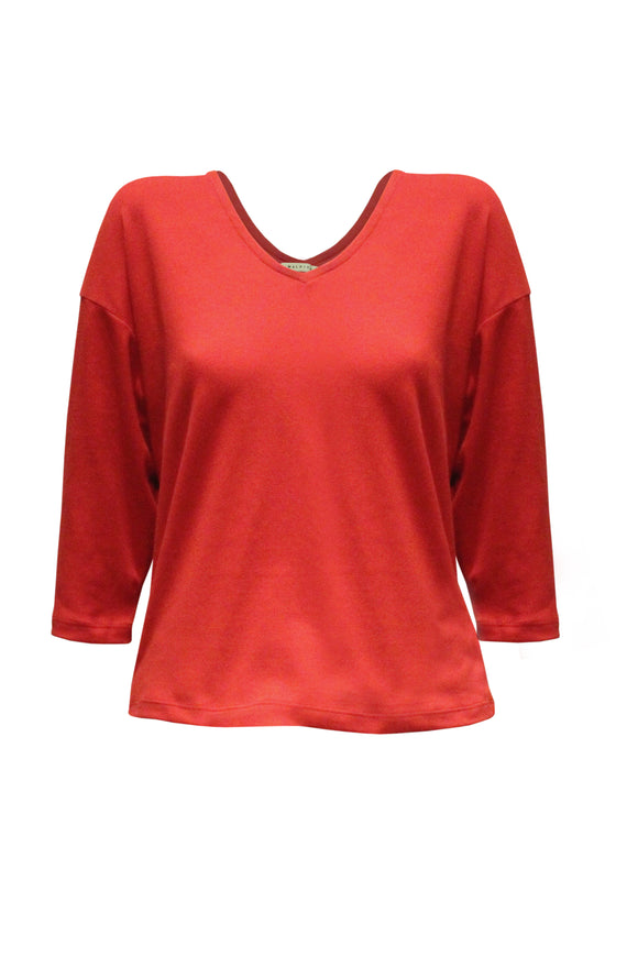 Hope Quarter Sleeves Basic Top
