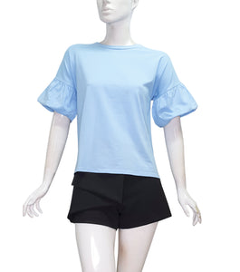 Elaine Puff Short Sleeves Top