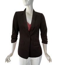 Load image into Gallery viewer, Lara Ruched Sleeves Blazer