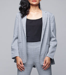 Leona One Button Blazer