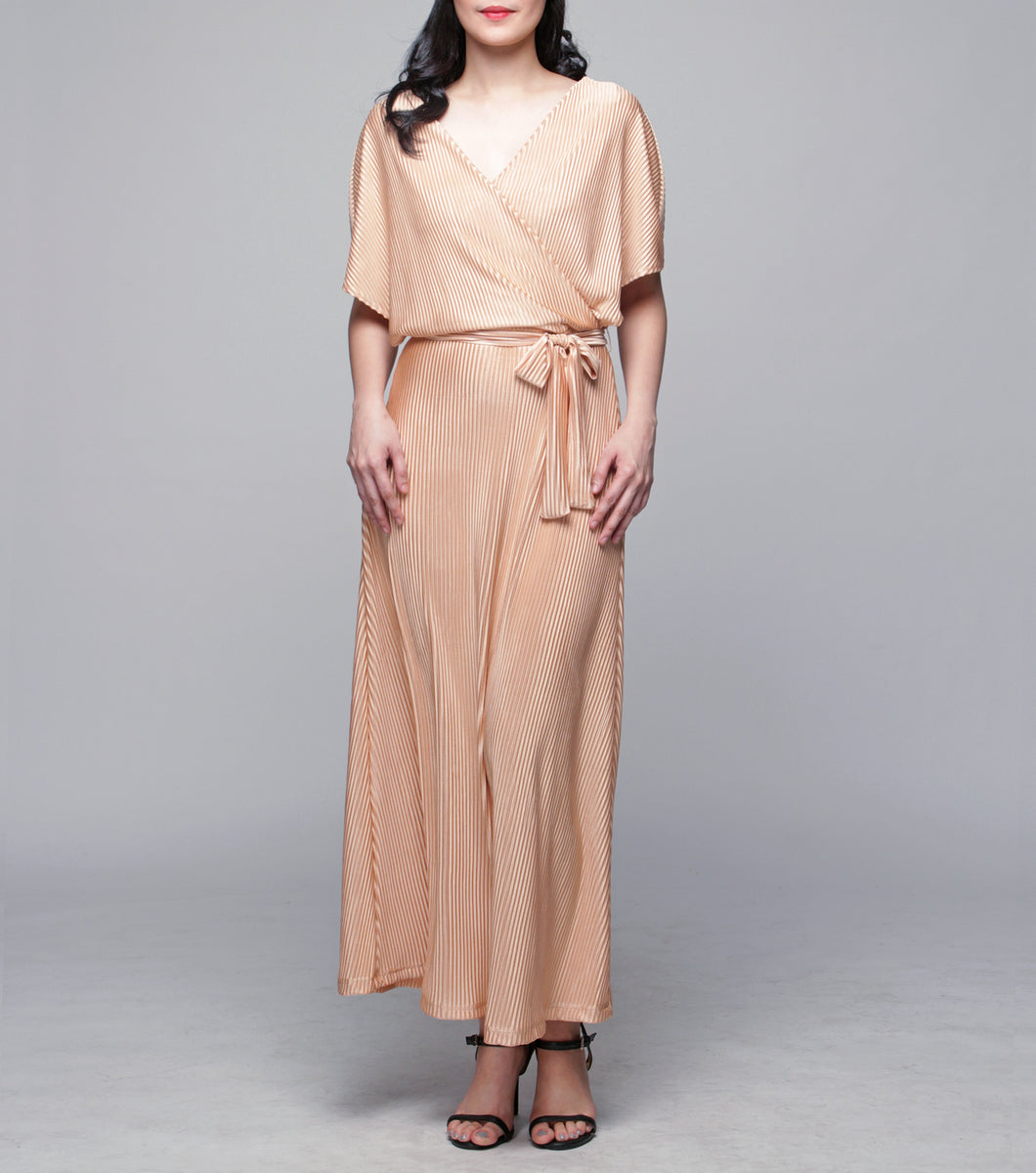Lucia Overlap Long Dress