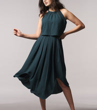 Load image into Gallery viewer, Lenna Layered Halter Dress