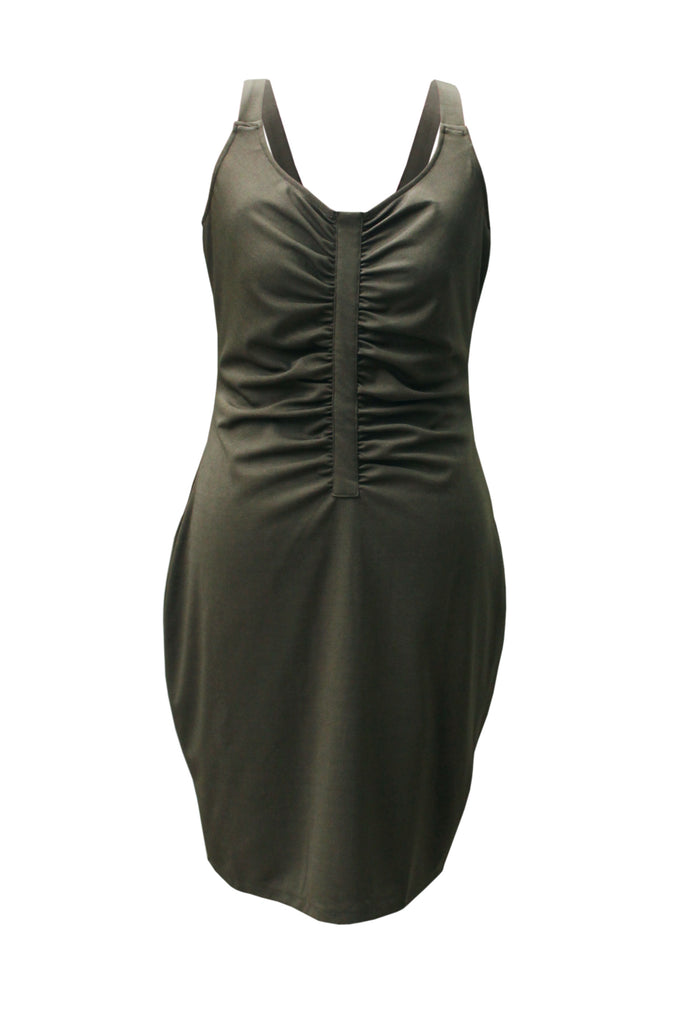 Julia Ruched Figure Hugging Sheath Dress