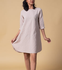 Lehan Christi A-Line Shift Dress
