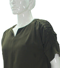 Load image into Gallery viewer, Jianina Ruched Sleeve Blouse