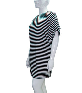 Dilly Plus Size Stripe Dress