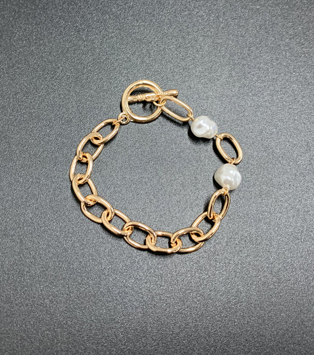 Luciana Stainless Steel Chain Bracelet