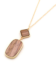 Load image into Gallery viewer, Leven Gold Tone Necklace w/ Pendant