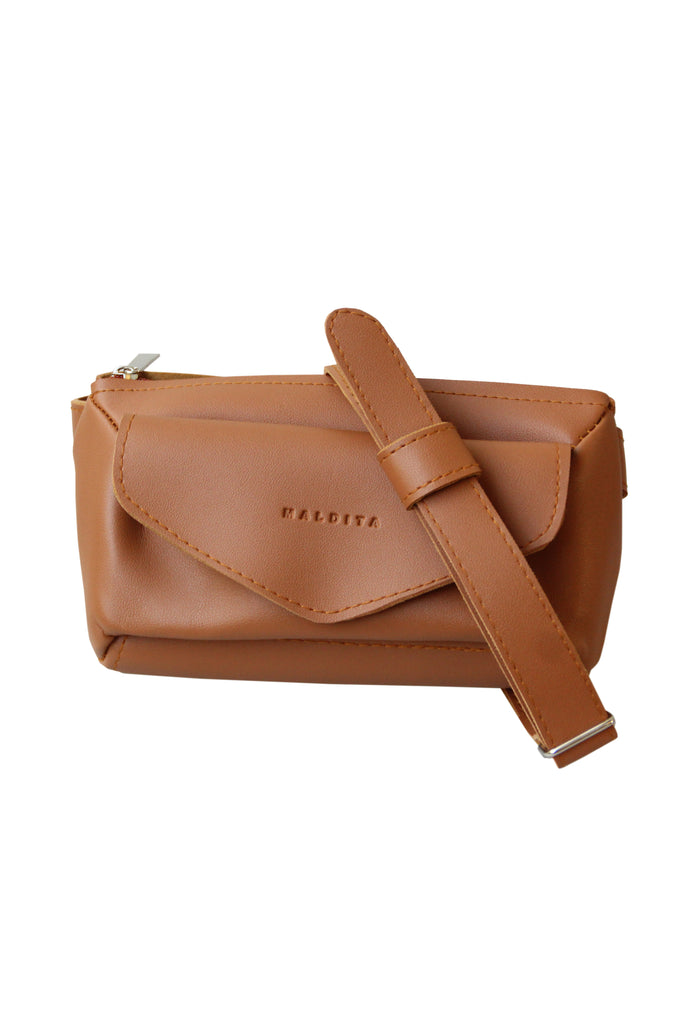 Ladies Casual Belt Bag (Camel)