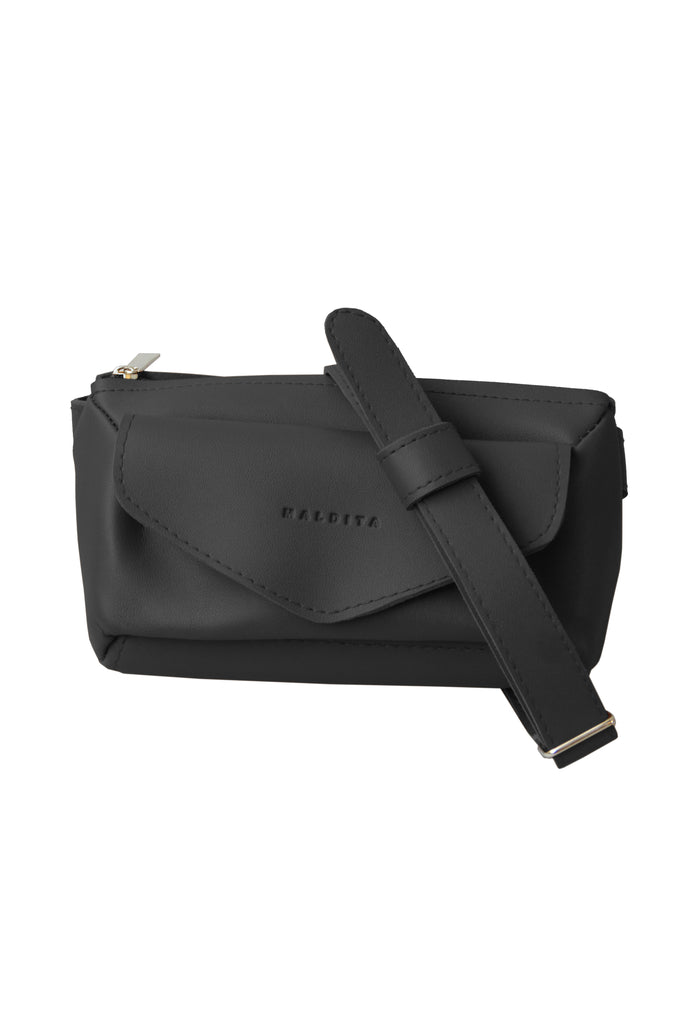Ladies Casual Belt Bag (Black)