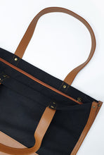 Load image into Gallery viewer, Canvas Combi Tote Bag