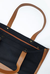 Canvas Combi Tote Bag