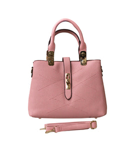 Mini Tote Hand Bag (Blush)