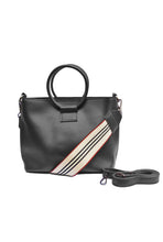 Load image into Gallery viewer, KD Faux Leather Round Handle Sling Bag