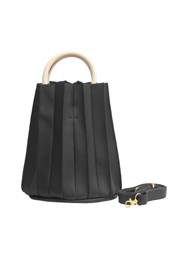 Kclyn Accordion Bucket Bag