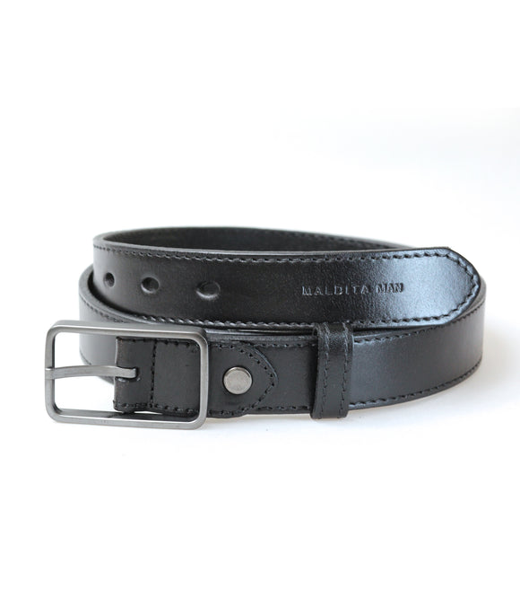 Genuine Leather Belt (Black)