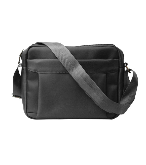 Nylon Mail Bag (Black)
