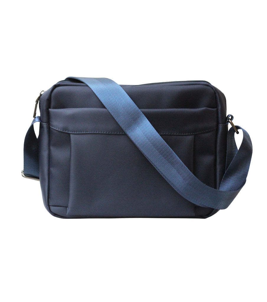 Nylon Mail Bag (Blue)