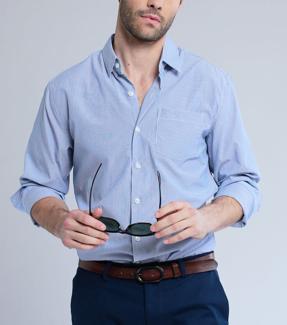 Dann Buttondown Shirt (Blue)