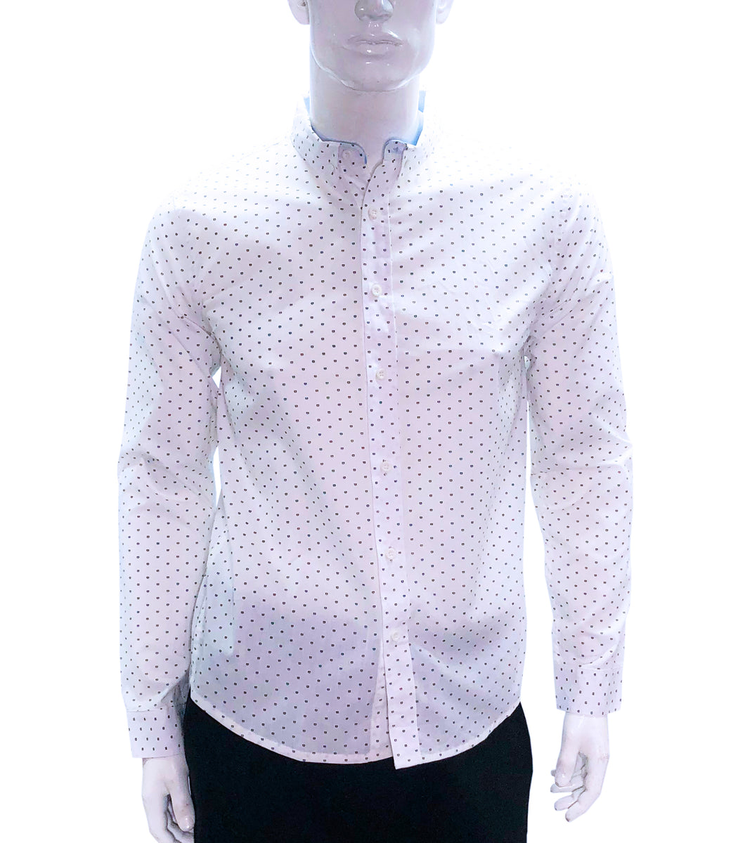 Humphrey Printed Button Down Shirt