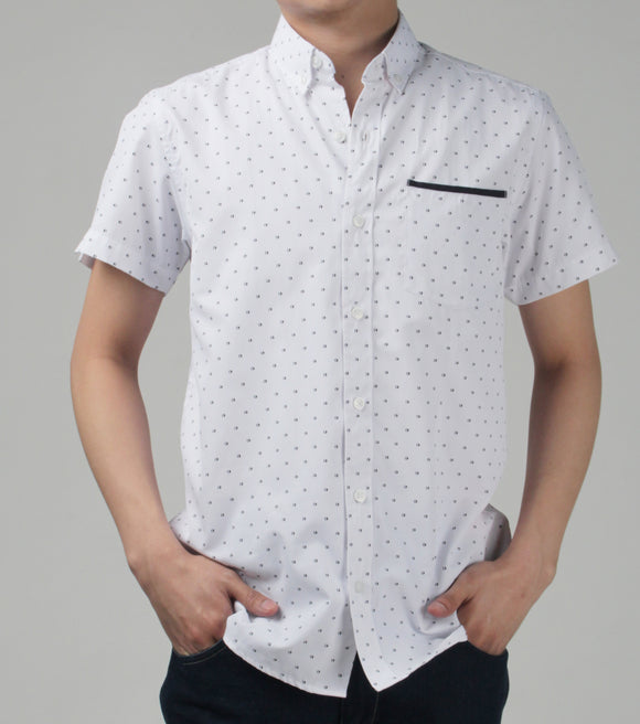 Hale Buttondown Polo Shirt