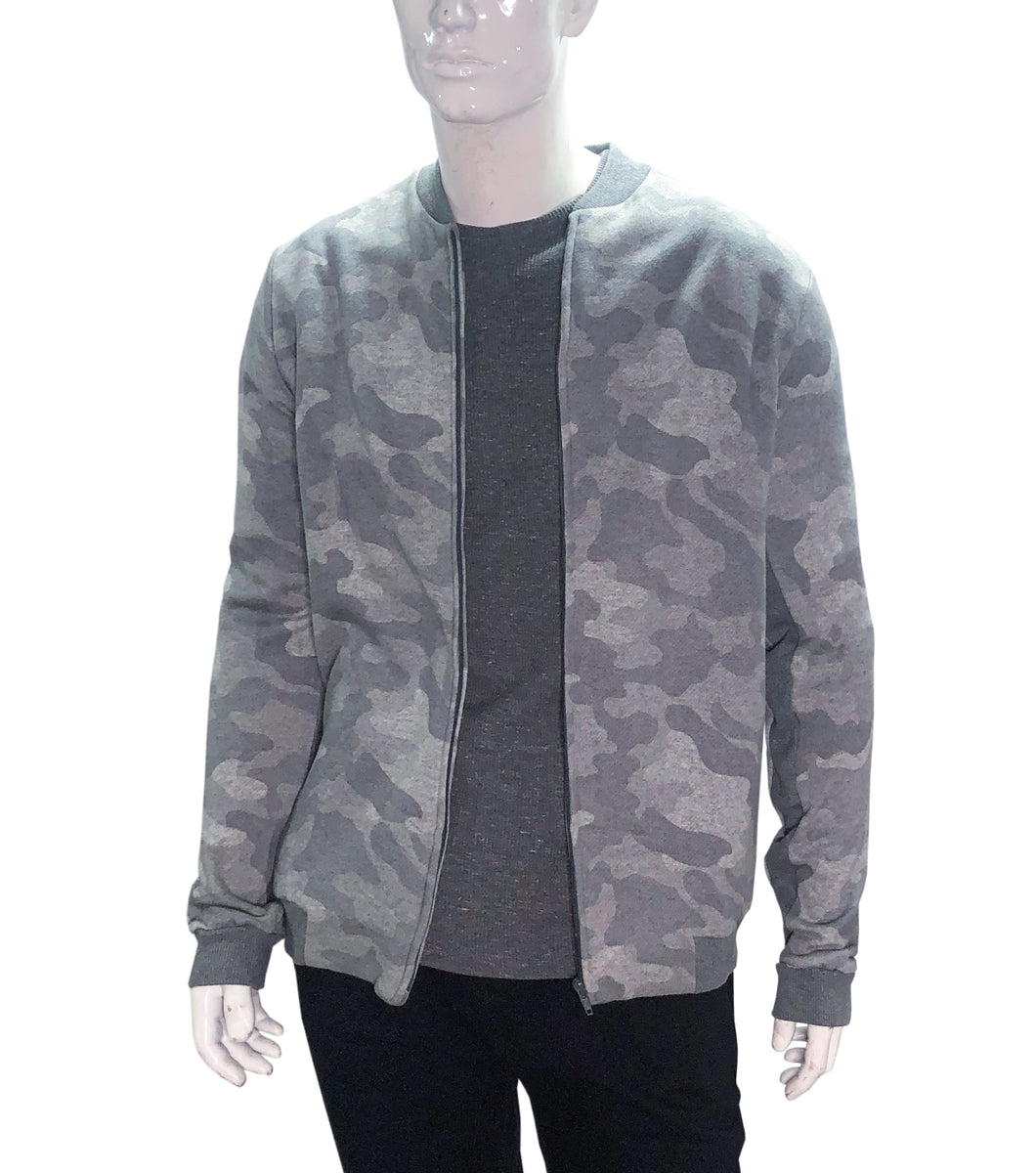 Enid Camouflage Zip Up Jacket
