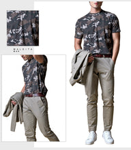 Load image into Gallery viewer, Earl Fatigue Short Sleeves Top