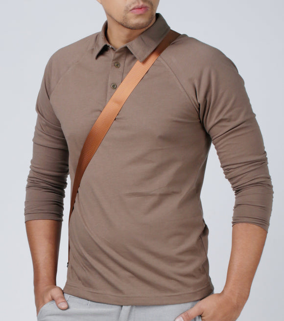 Isen Long Sleeve Polo Shirt