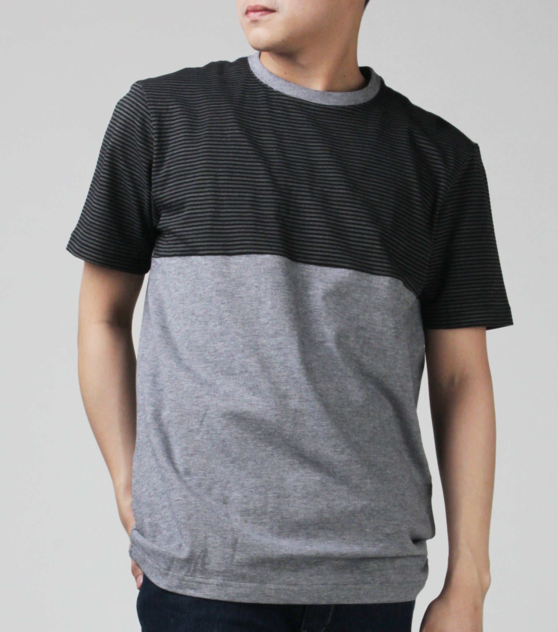Ian Cotton Striped T-Shirt