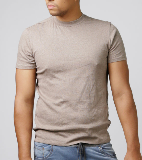 Hacket High Neck Rib T-Shirt