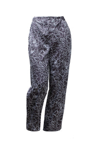 Holly Black Floral Printed Pants