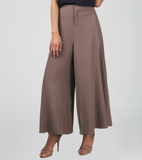 Isha Crepe Wide Leg Pants