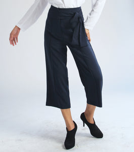 Cris Wide Leg Pants with Sash