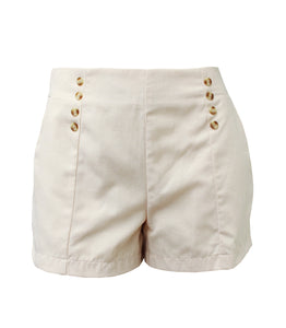 Iris Mid Waist Nautical Shorts