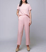 Load image into Gallery viewer, Irah Boxy Top w/ Wide Leg Pants SET